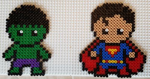 Eindelijk de strijkkralen van superhelden!
