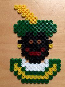 Strijkkralen Zwarte Piet - Strijkkralen en zo!